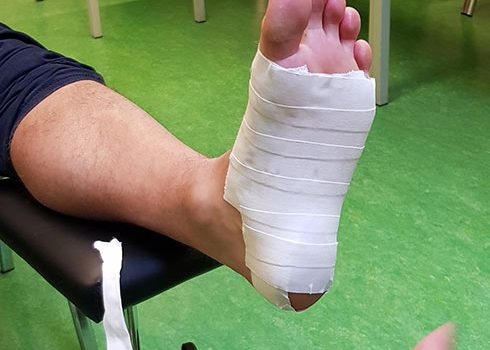 medical taping fysio almere