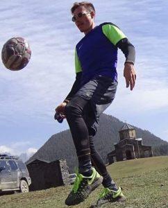 fysiotherapeut Almere voetballend