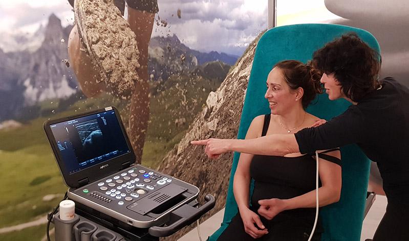 echografie door fysiotherapeut almere